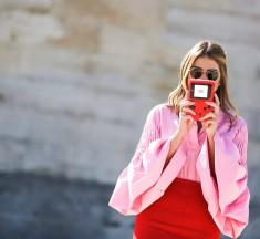 Red & Pink: La combinación de moda