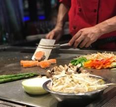Experiencia Teppanyaki: Un espectáculo gastronómico